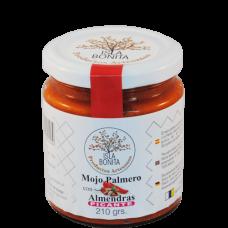Isla Bonita - Mojo Palmero-Sauce Picante con Almendras mit Mandeln würzig 260g hergestellt auf Gran Canaria