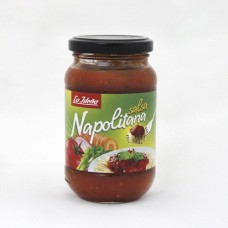 La Isleña - Napolitana Salsa Napoli-Tomatensauce Glas 260g hergestellt auf Gran Canaria - LAGERWARE