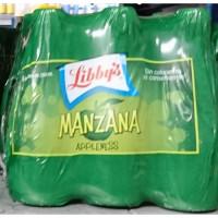 Libby's - Manzana Appleness Apfelschorle 6x 250ml Glasflaschen hergestellt auf Teneriffa
