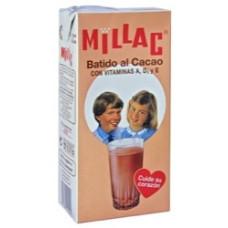 Millac - Leche Batida al Cacao Schokomilch 1l 6er Pack hergestellt auf Gran Canaria