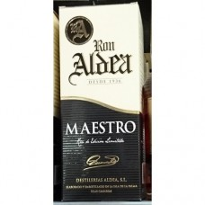 Ron Aldea - Ron Anejo Maestro 10 anos zehnjähriger Rum 700ml hergestellt auf La Palma