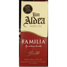 Ron Aldea - Ron Familia 15 Anos fünfzehnjähriger Rum 37,5% Vol. 700ml Karton hergestellt auf La Palma