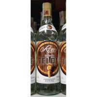 Ron del Telde - Ron Pipa Blanco Fass-Logo weisser Rum 37,5% Vol. 1l hergestellt auf Gran Canaria