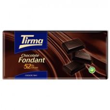 Tirma - Chocolate Fondant 52% Cacao Tafel Schokolade 150g hergestellt auf Gran Canaria - LAGERWARE