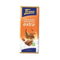 Tirma - Chocolate almendrado extra Schokolade mit Mandel 115g hergestellt auf Gran Canaria