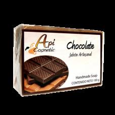 Valsabor - Jabon Artesanal de Chocolate Seife Schokoladen-Aroma 100g hergestellt auf Gran Canaria