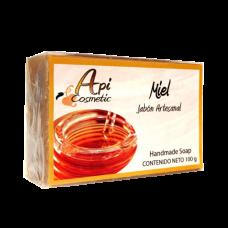 Valsabor - Jabon Artesanal de Miel Seife Honig-Aroma 100g hergestellt auf Gran Canaria